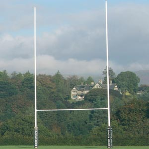 Harrod Sport Socketed No1 Steel Rugby Posts