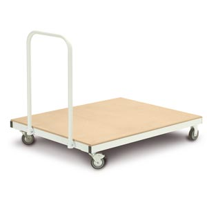 Harrod Sport Heavy Duty Flat Mat Trolley