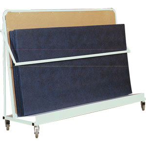 Harrod UK Vertical Inclined Mat Trolley