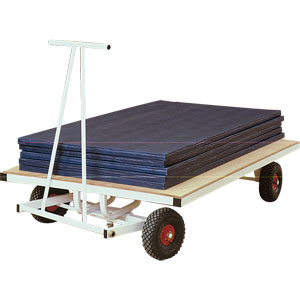 Harrod UK Super Heavy Duty Mat Trolley