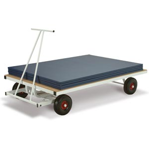 Harrod Sport Super Heavy Duty Mat Trolley