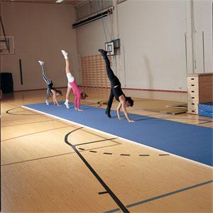 Beemat Floor Area   Runway Gymnastics Mat 12m x 2m