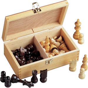 Staunton Wooden Chess Pieces