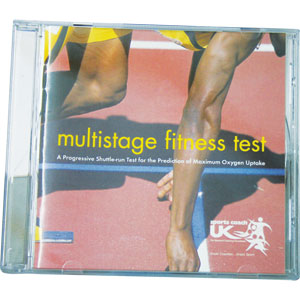 Multistage Fitness Test CD