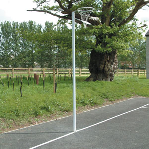 Harrod UK Socketed International Netball Posts
