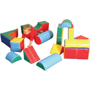 PLAYM8 Zoftplay 14 Piece Soft Play Set