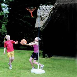 Harrod UK Netball Post Garden Set