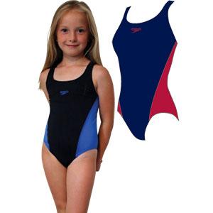 Speedo Girls Lepa Splashback Swimsuit