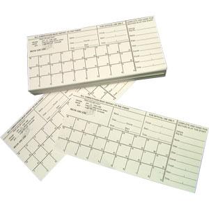 Silva Orienteering Competitors Cards 100 Pack