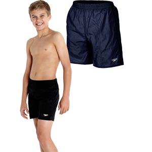 Speedo Boys Solid Leisure Swim Shorts