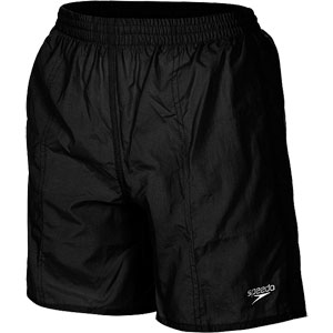 Speedo Boys Solid Leisure Swim Shorts Black