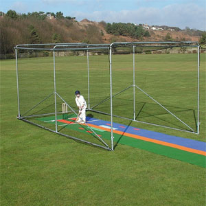 Harrod Sport Portable Steel Premier Cricket Cage
