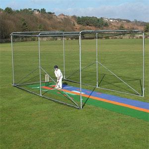 Harrod UK Portable Aluminium Premier Cricket Cage