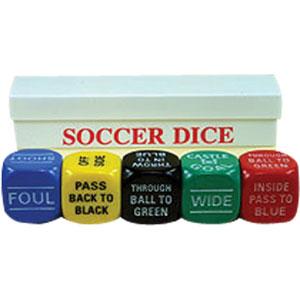 Soccer Sports Dice