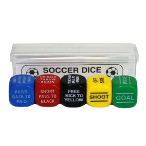 Soccer Sports Dice