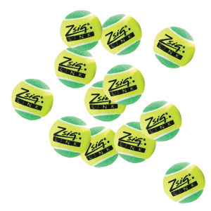 Zsig Link Mini Tennis Ball Green 12 Pack