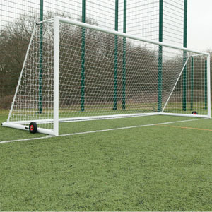 Harrod UK 3G Integral Weighted Football Portagoals 21ft x 7ft
