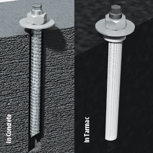 Harrod Sport Chem Bolt Shelter Anchors