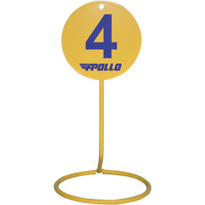 Apollo Field Markers Freestanding 10 Pack