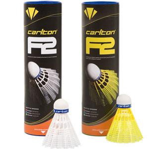 Carlton F2 Shuttlecocks 6 pack