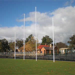 Harrod UK AFL Millenium Hinged Goal Posts