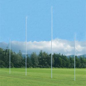 Harrod UK Senior Aluminium Club AFL Goal Posts