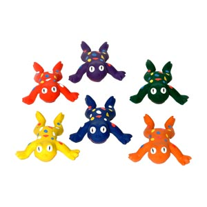 PLAYM8 Rubber Frogs 6 Pack