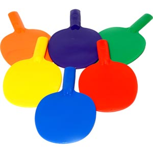 PLAYM8 Table Tennis Bat 6 Pack