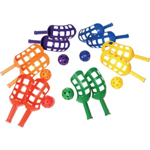 PLAYM8 Scoop Racket 6 Pack