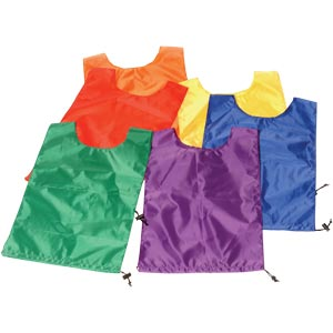 PLAYM8 Nylon Bibs 6 Pack