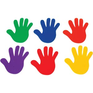 PLAYM8 Marking Hands 6 Pack