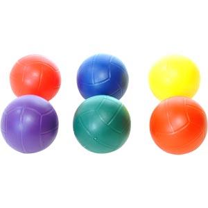 PLAYM8 Non Sting Netball 6 Pack 20cm
