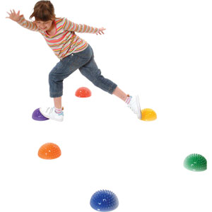 PLAYM8 Sensory Stepping Dome 6 Pack
