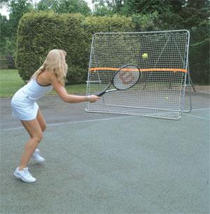 Harrod Sport Tennis Trainer Rebound Net