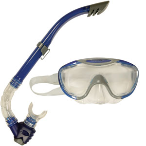 Speedo Glide Snorkel and Mask