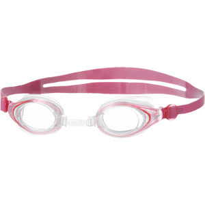 Speedo Junior Mariner Swimming Goggles Pink/Clear