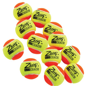 Zsig SLOcoach Mini Tennis Ball 12 Pack