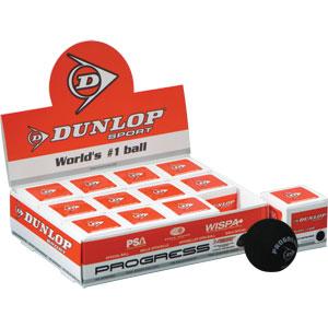 Dunlop Progress Squash Balls Pack of 12