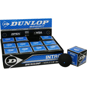 Dunlop Intro Squash Balls Pack of 12