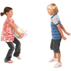 PLAYM8 Swirly Playball 25cm