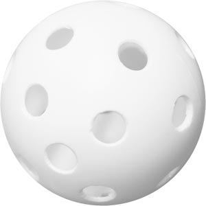Eurohoc Floorball Perforated Ball