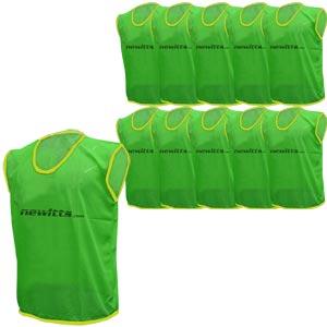 Plain Training Bibs 10 Pack Green