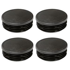 Harrod Sport Black Plastic Rugby Socket Caps