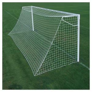 Harrod Sport Socketed Steel Anti Vandal Football Posts 21ft x 7ft