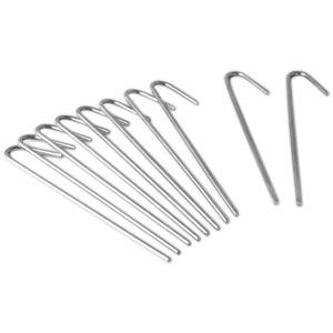Harrod Sport Steel Ground Net Pegs 10 Pack