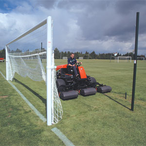 Harrod Sport Senior Goal Hinged Bottom Net Supports