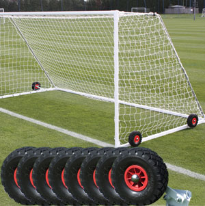 Harrod UK Flipover Wheels For Freestanding Goals Set of 8