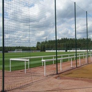Harrod Sport Perimeter Netting, Poles and Sockets