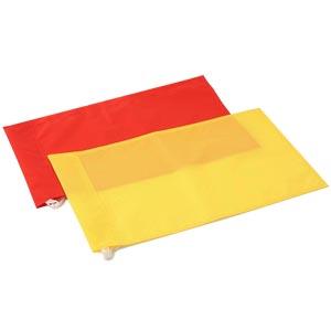 Harrod Sport Linesmans Plain Flags Pair