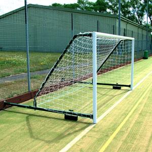 Harrod UK 3G Fence Folding Football Posts 16ft x 6ft